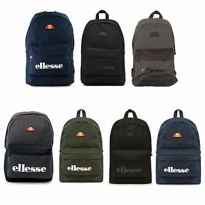 ... Ellesse Regent Ii Backpack Back To School Bag Rucksack In Black Blue  Shau0181 the latest 82e4b ... 070ab1075b