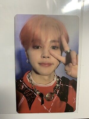 bts map of the soul mots persona version 4 jimin official photocard
