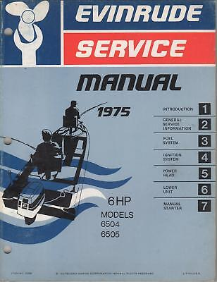 Evinrude 6hp Manual