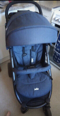 joie litrax 4 stroller pushchair navy with raincover