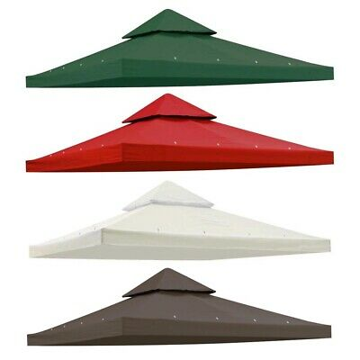 9 76 X9 Gazebo Top Canopy Replacement Uv30 Sunshade Cover For 10